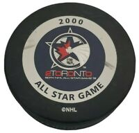 2000 2TORONTO ALL STAR GAME OFFICIAL GAME PUCK 50TH NHL BETTMAN INGLASCO 🇨🇦