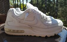 Nike Air Max Wright, 317551-111, White / White, Men's Running Shoes, Size 11.5