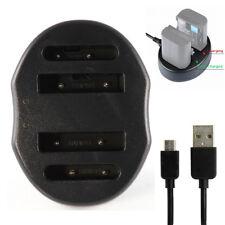 USB Dual 2 Battery Charger Akku Ladegerät Für EN-EL19 EN-EL5 Nikon Coolpix S7000