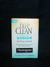 5 ~ Neutrogena Deep Clean Long Last Shine Control Blotting Sheets