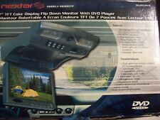 "Nextar 7"" TFT Color Display filip down Monitor W/ DVD Player MD1007P"