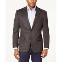 $450 Lauren Ralph Lauren Cashmere Silk Dark Grey Sport Coat Mens 43R 43 NEW