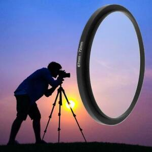 67mm To 72mm Metal Step Up Ring Lens Adapter Filter Accessories Tools H4D5