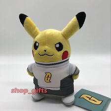 "Pokemon Pikachu in Team Galactic Costume Plush Soft Toy Stuffed Animal Doll 8.5"""