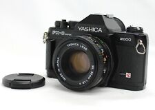 [Exc+5] Kyocera Yashica FX-3 Super 2000 SLR Camera w/ ML 50mm F/1.9 from Japan