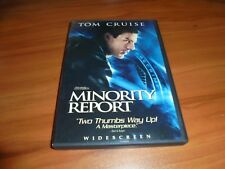 Minority Report (Dvd, 2002, 2-Disc Widescreen) Used Tom Cruise Sci-Fi Thriller