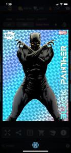 Topps Marvel Collect Mercy Holographic Tilt Black Panther DIGITAL Super Rare!