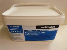 Lomal L 950  Fertigfuge schwarz Fugenmörtel wasserdicht Kunstharz pro Kilo