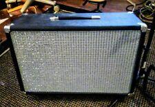 "Fender Style 2-10"" Guitar Amp Ext Speaker loaded w fender/eminence 30w 8ohms"