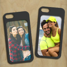 Custom Personalized Black Apple iPhone 5 5s SE Photo Picture Case - USA Made