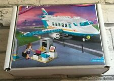 LEGO Friends 41100 HEARTLAKE PRIVATE JET 100% Complete instructions & Gift Box