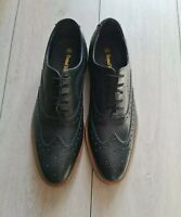 SAMUEL WINDSOR LEATHER LACE UP OXFORD BROGUES SIZE UK 8