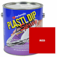 Plasti Dip Spray, 1 Gallon Can, Ready to Spray, Matte - RED