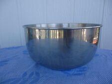 vintage sunbeam mixmaster mixer bowl large stainless steel a12,a24,mxa,mx
