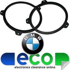 "BMW 3 Series E46 1999-2006 6.5"" 165mm 17cm Rear Shelf Car Speaker Adaptor Rings"