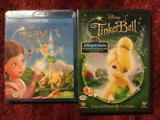 Disney : Tinkerbell / DvD + Tinkerbell and the Great Fairy Rescue / Blu-ray Set