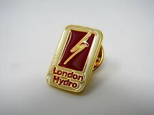 Vintage Collectible Pin: LONDON HYDRO