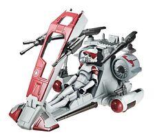 Star wars republic scout speeder + arf trooper figure new