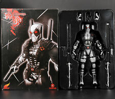 Gray Deadpool Marvel Legends Universe Model X-FORCE Wolverine Action Figure 10""