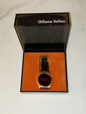 Vintage 1970s Gillette Model 315 Men's LED Watch New In Box Free S&H