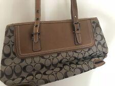 coach handbag used