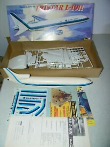 Lockheed Tristar L1011 Eastern Airlines Vintage 1973 Revell Open Box Started