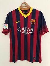 FC BARCELONA SPAIN 2013/2014 HOME FOOTBALL SOCCER SHIRT JERSEY CAMISETA NIKE