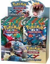 Pokemon TCG XY Furious Fists 6 Booster Pack Lot 1/6 Booster Box