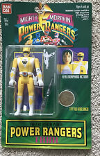 Auto Morphin Power Rangers Trini Yellow Ranger 1994 Bandai BRAND NEW VINTAGE TOY