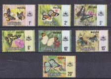 Malaysia Melaka 1971 serie corrente Farfalle 305-11 MHN