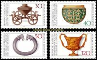 EBS Germany 1976 Archaeological Treasures (I). Michel 897-900 MNH**