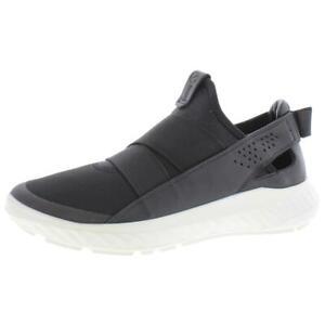 ECCO Womens St. 1 Lite Black Running Shoes Sneakers 38 Medium (B,M) BHFO 0463