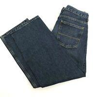 Arizona Big Kid Husky Straight Leg Relaxed Fit Boys Dark Jeans Size 16 Husky NWT