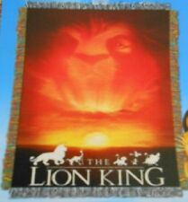 New The Lion King Sunset Simba Tapestry Throw Gift Blanket Disney Movie Jungle