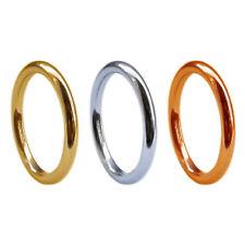 Anillos de joyería de metales preciosos sin piedras amarillos de boda