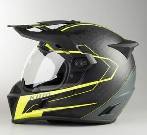 Klim Krios Karbon Vanquish Adventure Helmet - NEW - Medium