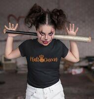 Halloqueen T-Shirt Queen Of Halloween TShirt
