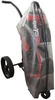 GM Waterproof Clear Golf Trolley Bag Rain Cover Cape Zip Cover New Heavy Duty