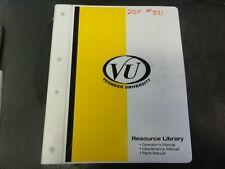 Vermeer D9x13 Series Ii Navigator Horizontal Directional Driller Op Manual
