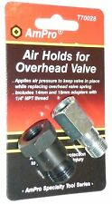 AIR HOLD ADAPTERS 2pc SET- SPARK PLUG ADAPTERS -  BRAND NEW.