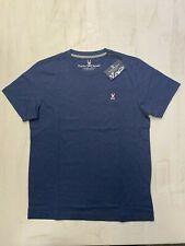 Psycho Bunny Classic Crew Neck T-Shirt Nwt Men'S All Sizes Heather Navy