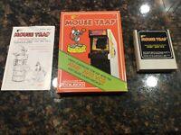 Atari 2600 Mouse Trap Cart with Manual & Box CIB - Tested
