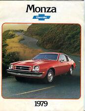 Chevrolet Monza 1979 Brochure EX 040116jhe