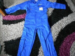 MENS NEW DICKIES BLUE BOILER SUIT/OVERALLS  PROBAN 44 INCH CHEST .