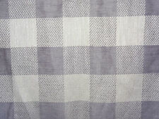 "OSBOURNE & LITTLE ""CATAMARAN"" 4.1 metres designer woven check fabric LAVENDER"