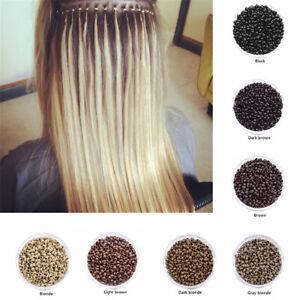 500 Pcs/Bottle 2.5mm Hair Extensions Links Micro Nano Rings Beads