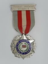 MED 321 - MEDAILLE - BRITISH FIRE SERVICES ASSOCIATION - HONORARY MEMBER