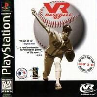 Vr Baseball '97 - PS1 PS2 Playstation Game