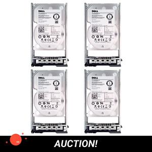 """AUCTION: 4x DELL 1TB SATA 6GB/s 2.5"""" · ST91000640NS 0WF12F · HDD"""