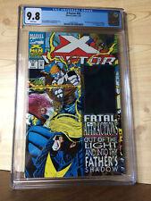 X-Factor #92 (Jul 1993, Marvel) CGC 9.8 1st appearance Exodus Havok hologram